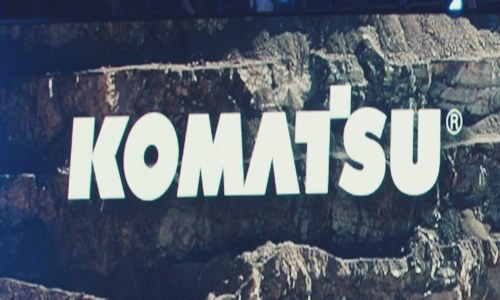 komatsu mining corp build headquarters