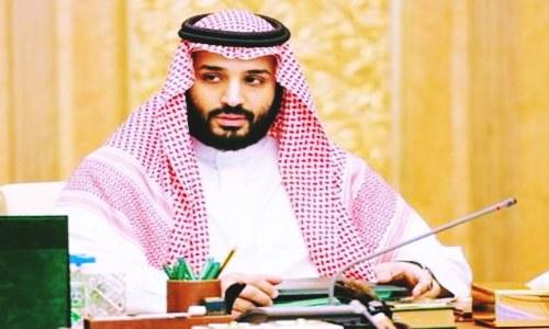 saudi arabias crown prince affirms aramco ipo